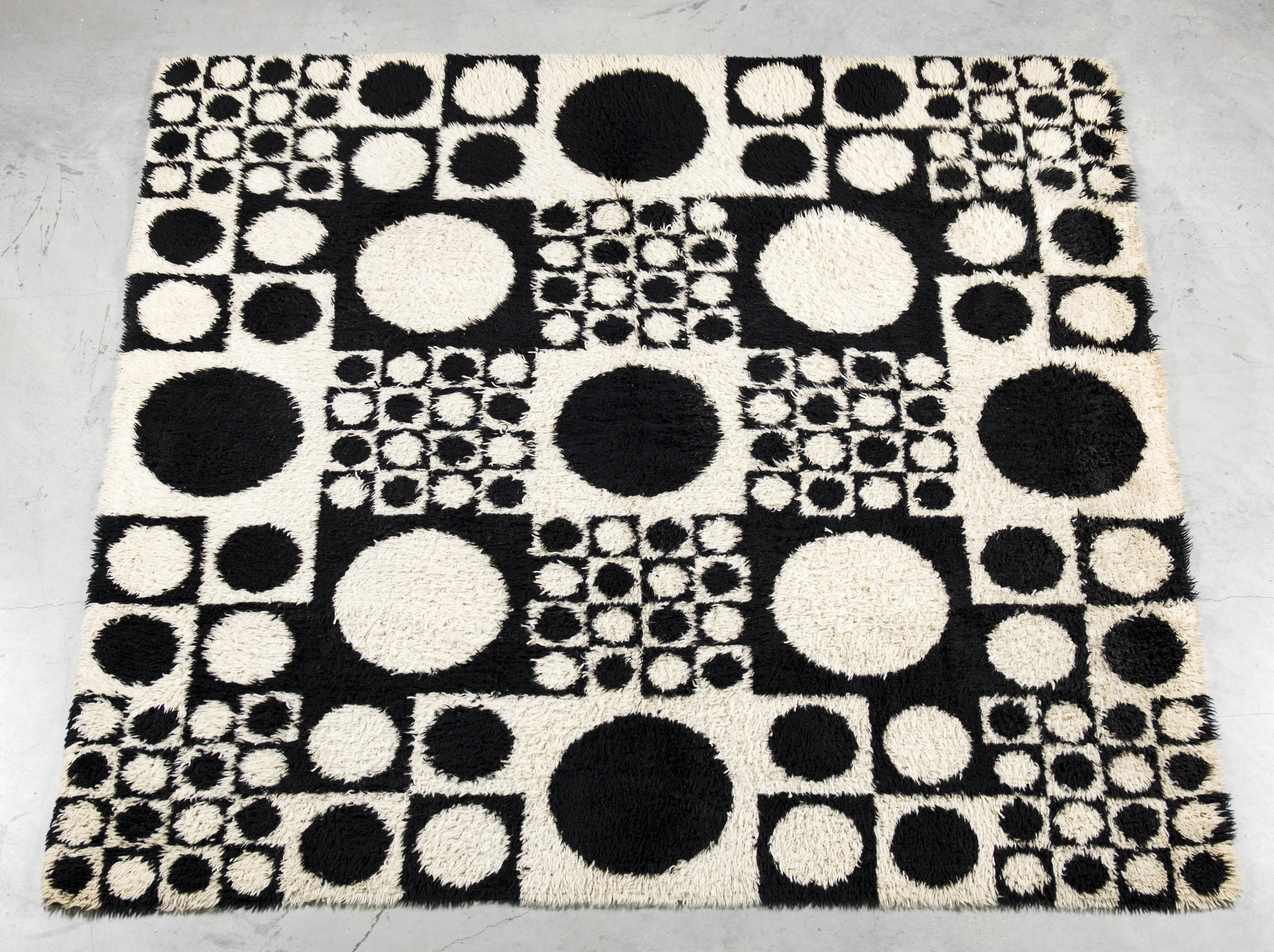 Geometri I carpet. Unika Veav ca 1960